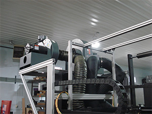 IR Dryer Blower System Imaging Tower
